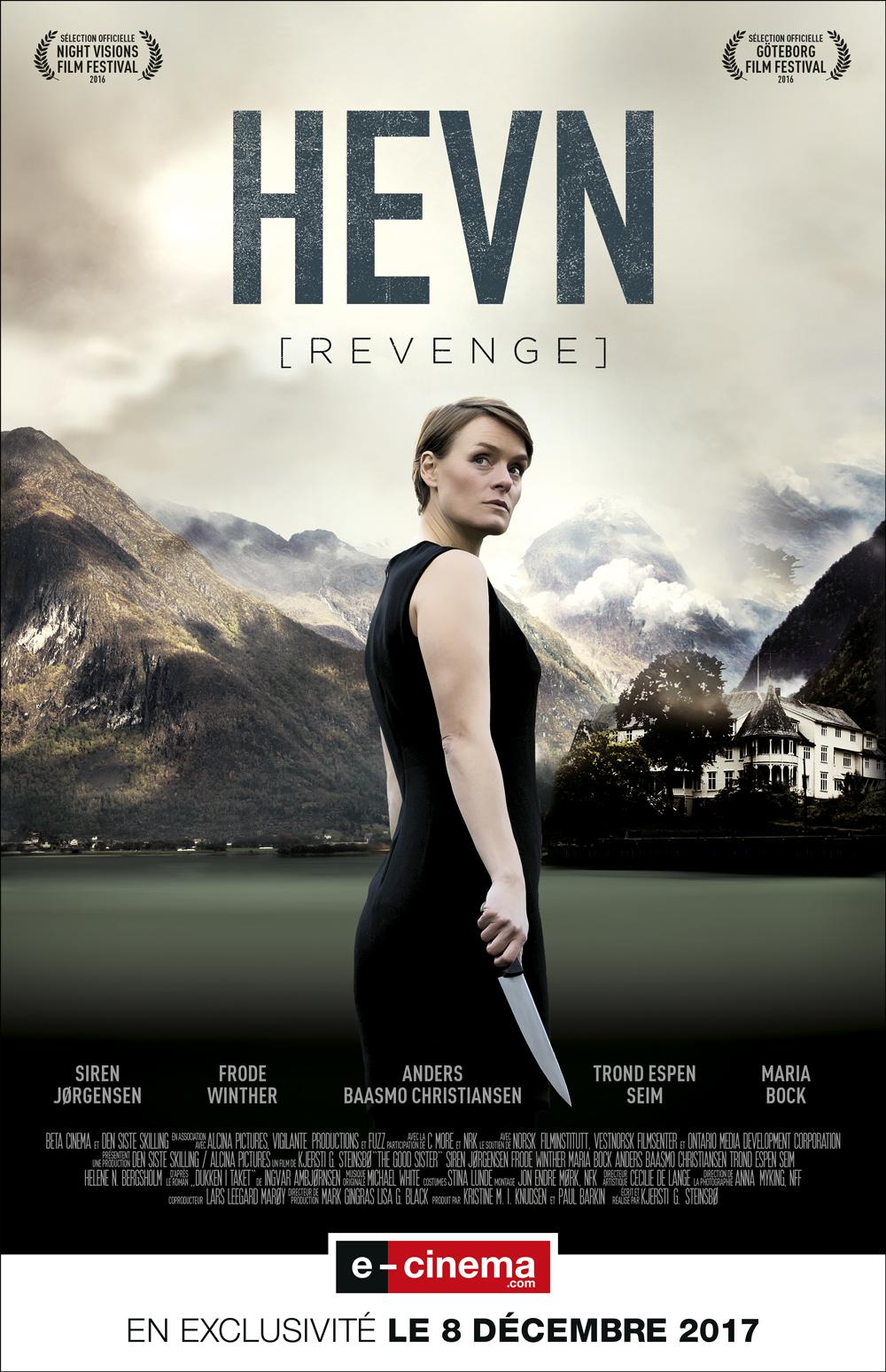 hevn (revenge) affiche