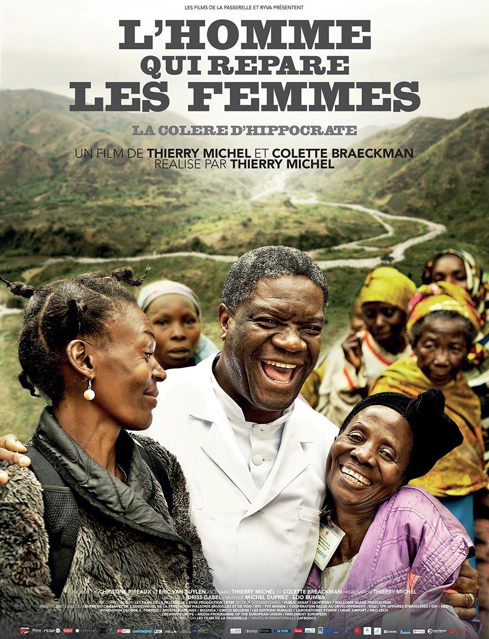 L'homme qui répare les femmes (2015) de Thierry Michel.