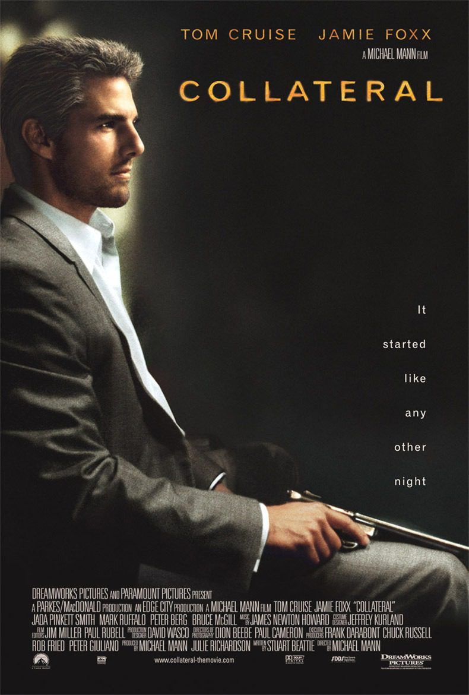 tom cruise dans Collatéral (2004) de Michael Mann