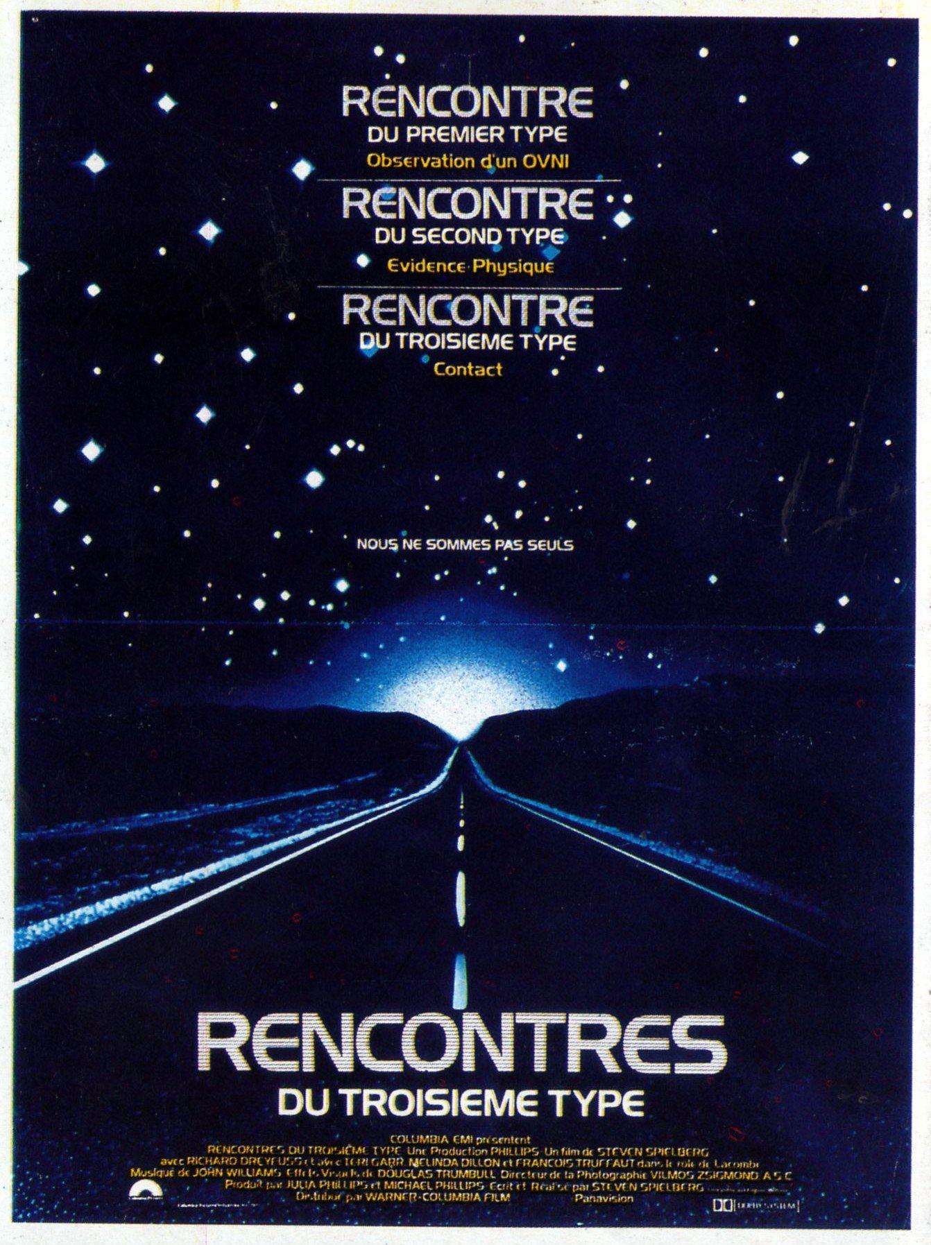 affiche de Rencontres du troisième type (1977) Rencontres du troisième type (1977)