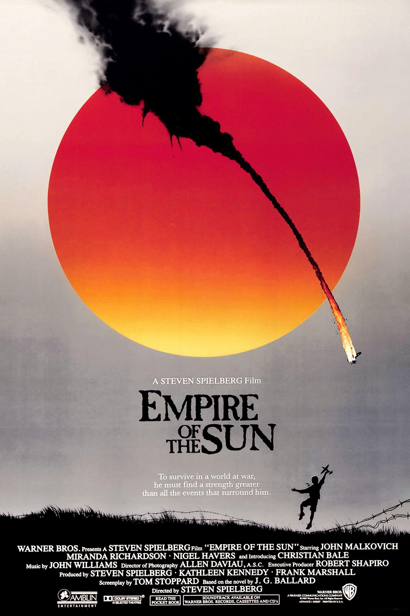 affiche US Empire du soleil (1987)