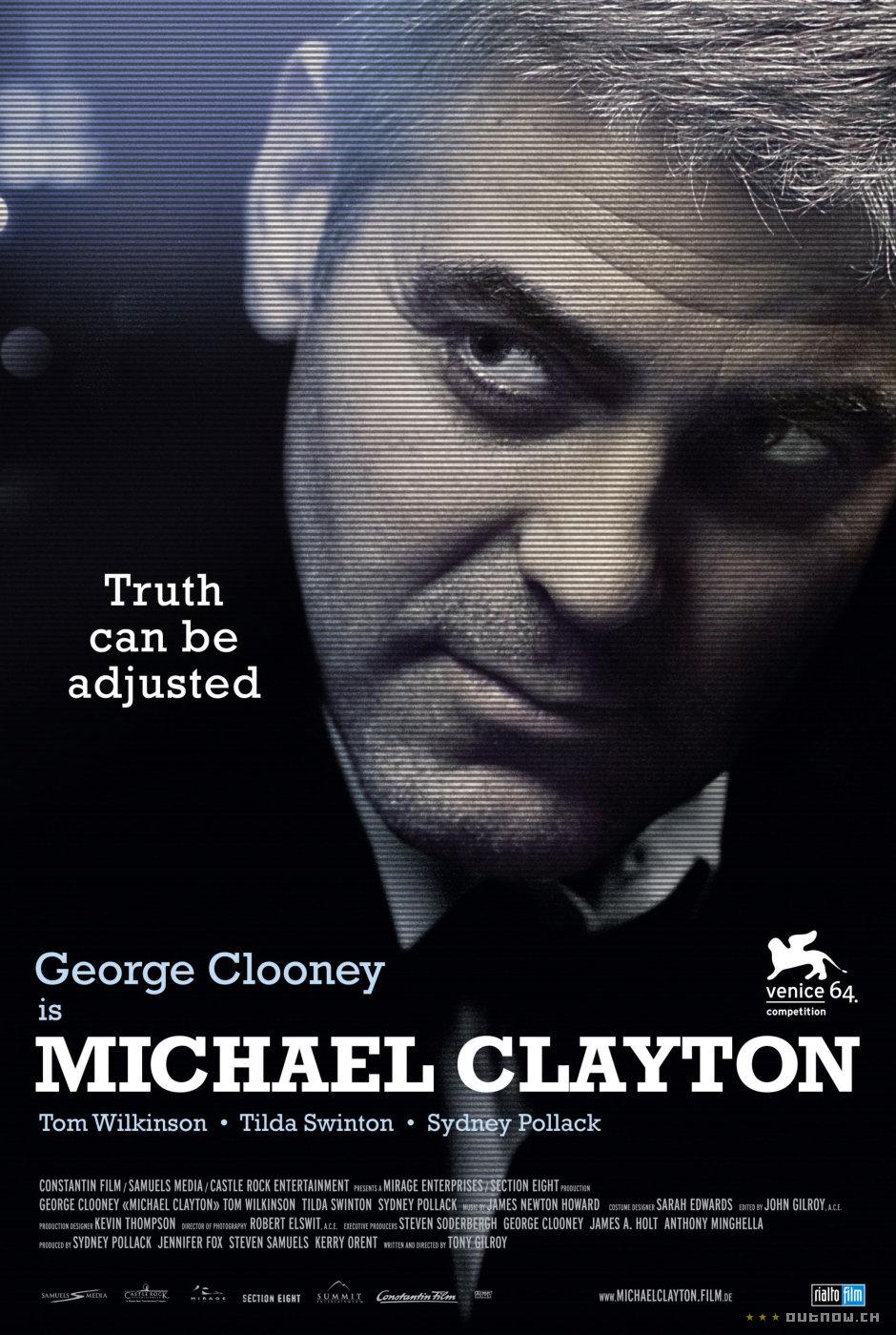 Michael Clayton de Tony Gilroy