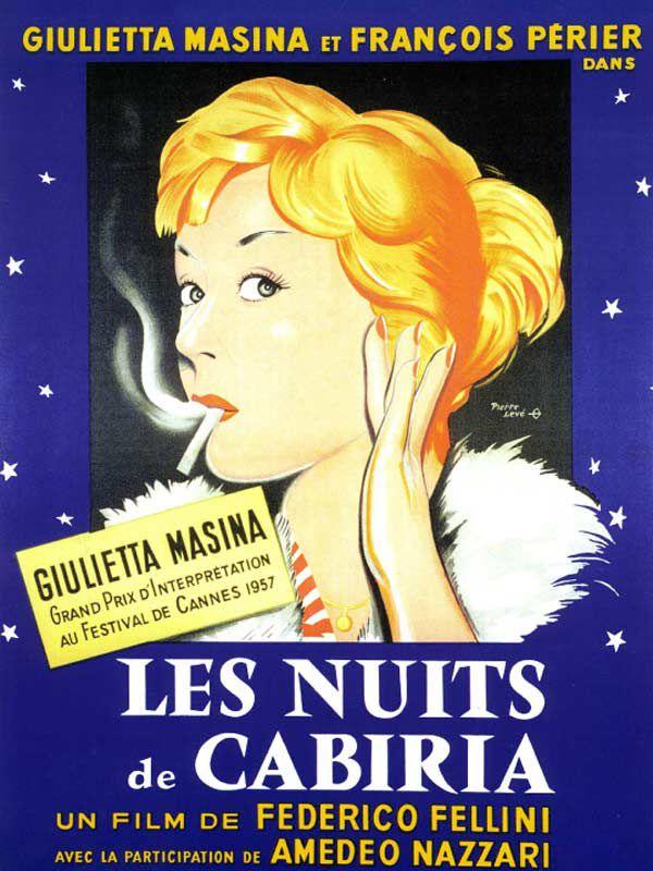 Les Nuits de Cabiria (1957) de Federico Fellini