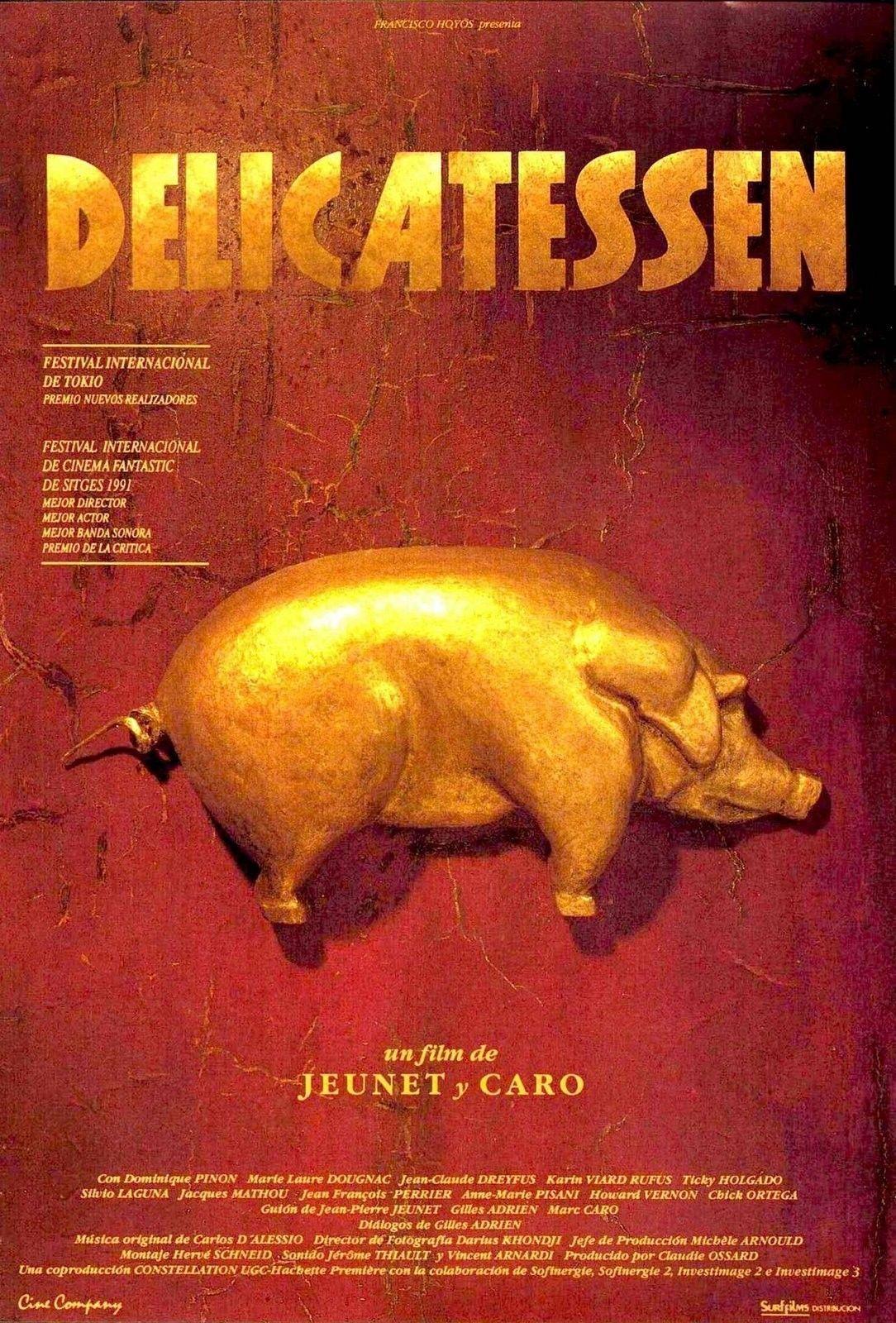 Delicatessen de Jean-Pierre Jeunet et Marc Caro