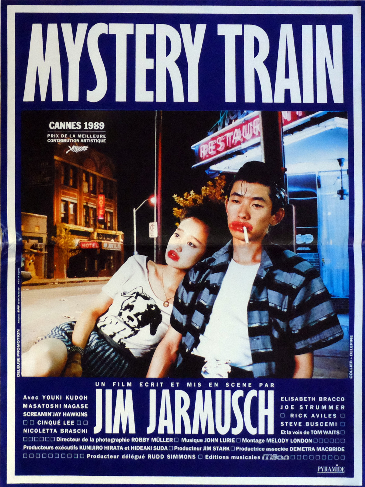 Mystery Train affiche