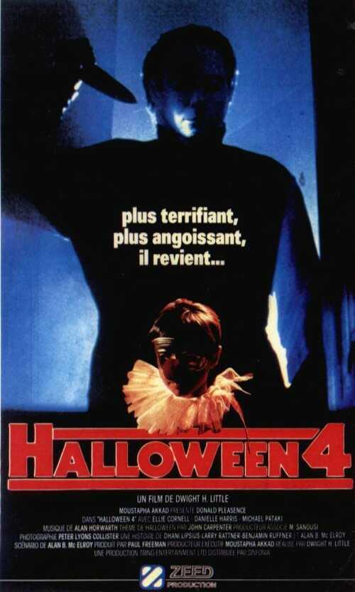 Halloween 4 (1988) de Dwight H. Little