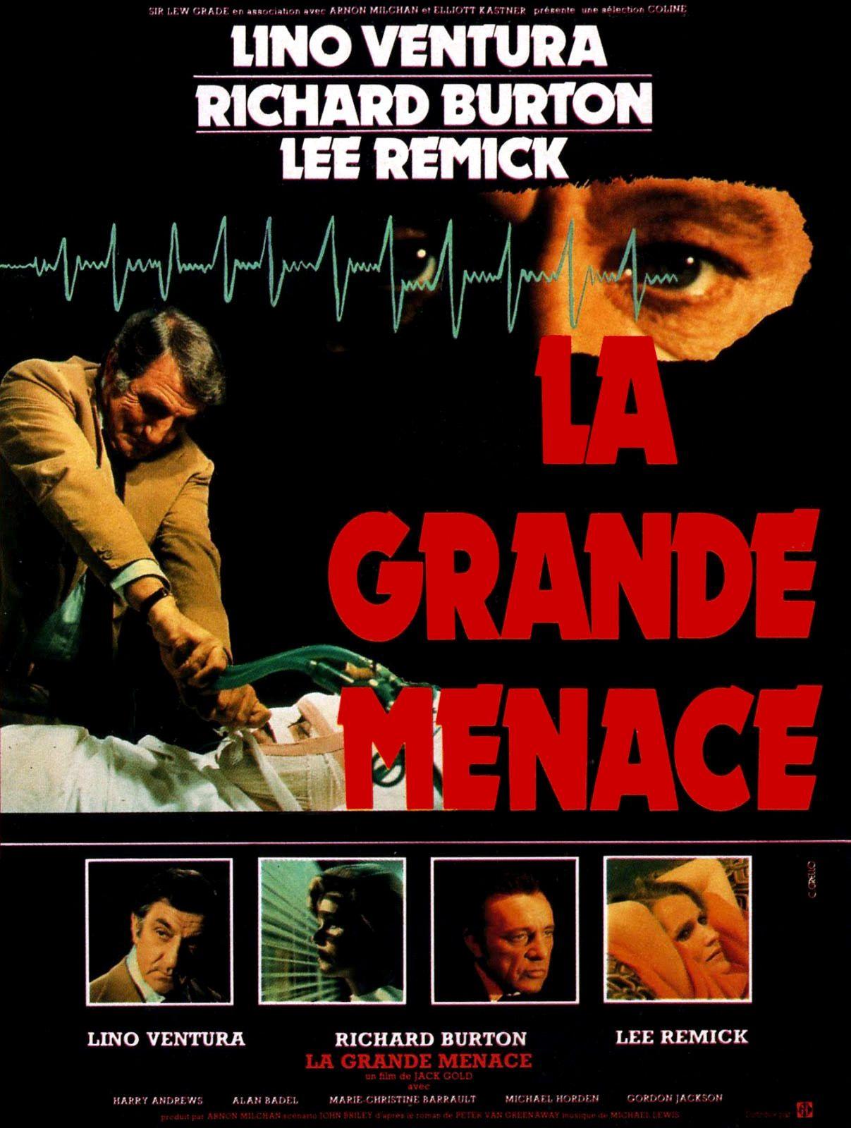 La grande menace (1978) de Jack Gold - affich