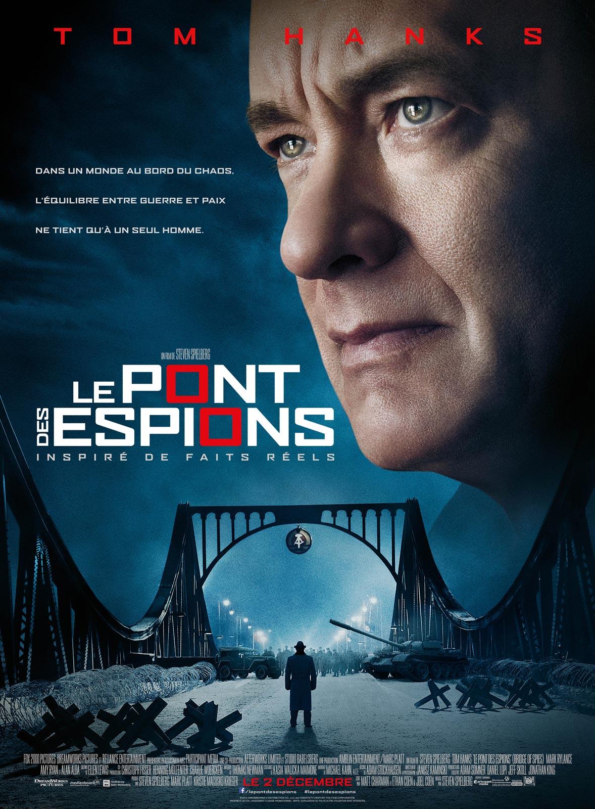 affiche Le Pont des espions (2015)