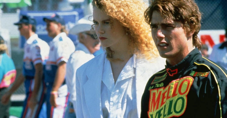 tom cruise dans Jours de tonnerre (1990) de Tony Scott