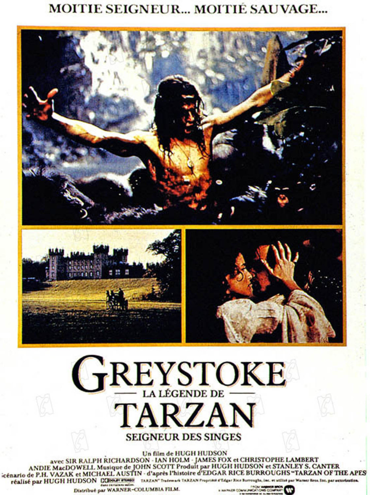 Greystoke, la légende de Tarzan de Hugh Hudson