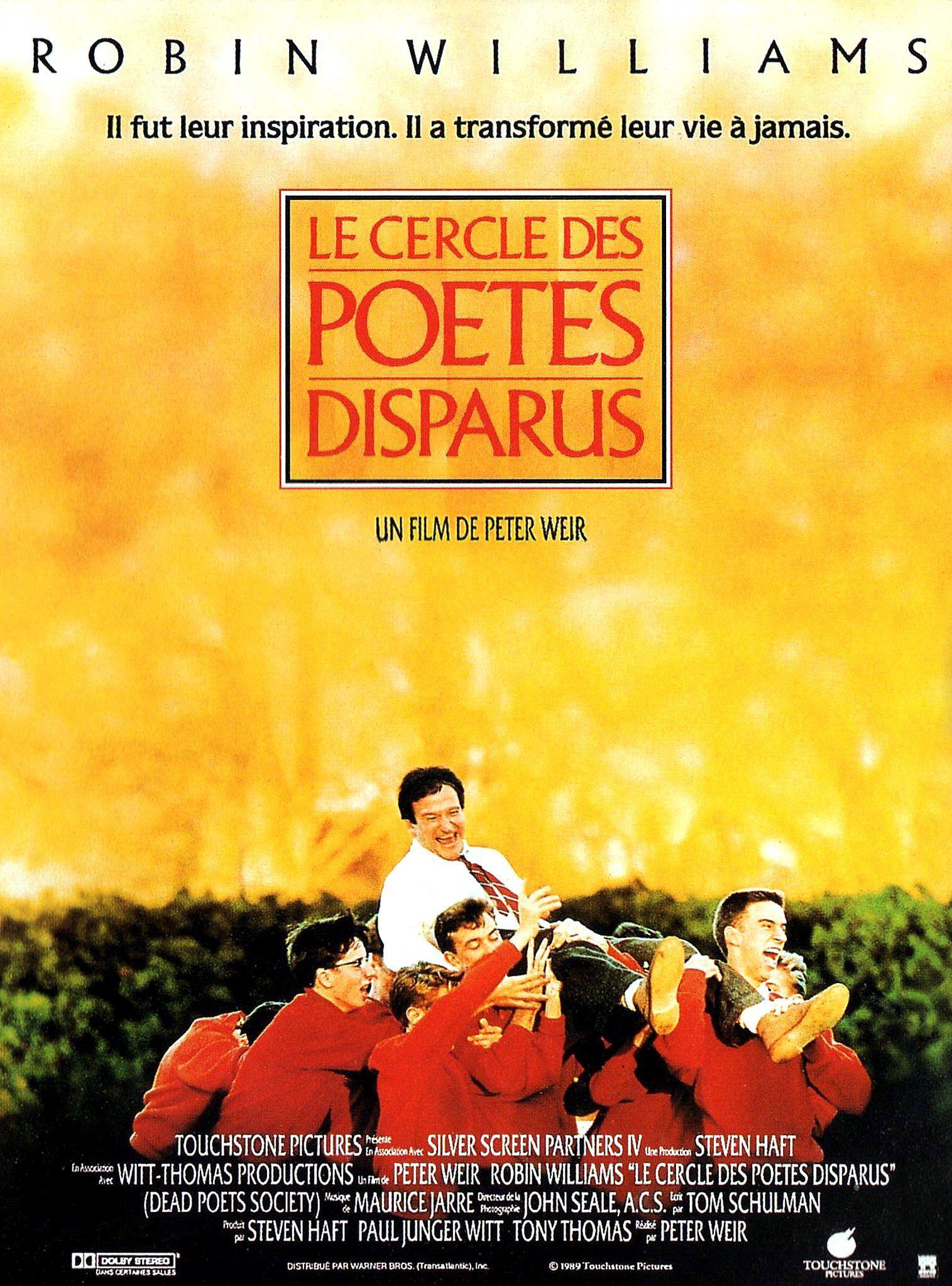 Le Cercle des poètes disparus de Peter Weir