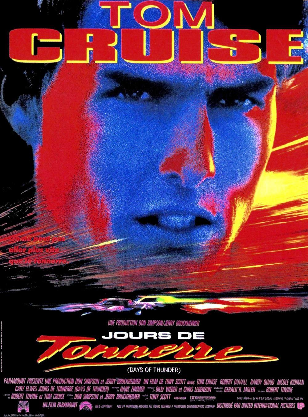 Jours de tonnerre (1990) de Tony Scott