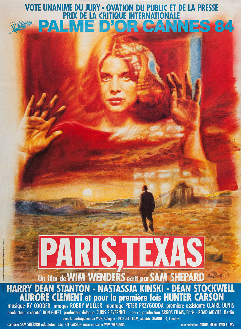 Paris, Texas affiche