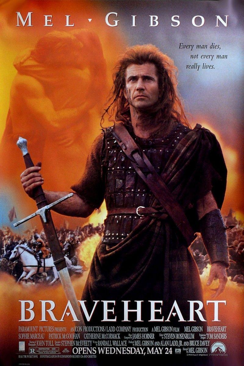 Braveheart de Mel Gibson