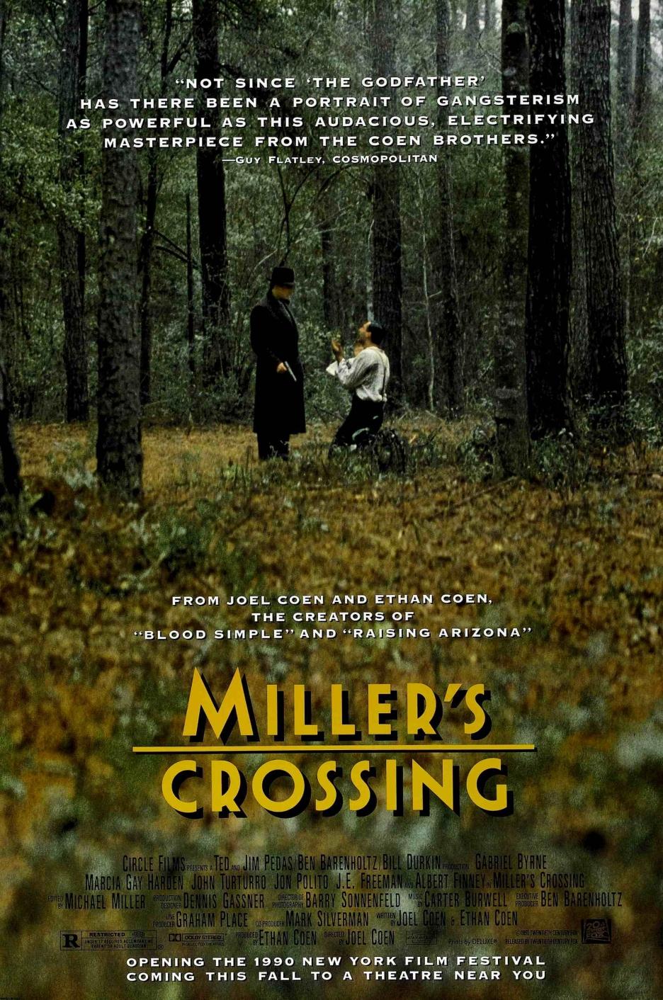 MILLER'S CROSSING des frères Coen