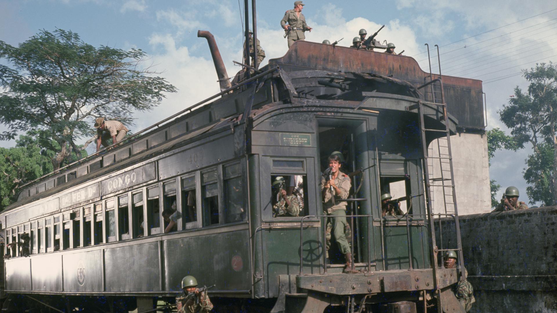 Le Dernier train du Katanga (1968) de Jack Cardiff
