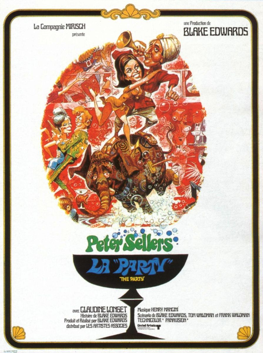 PETER SELLERS héros candide de the party de blake edwards
