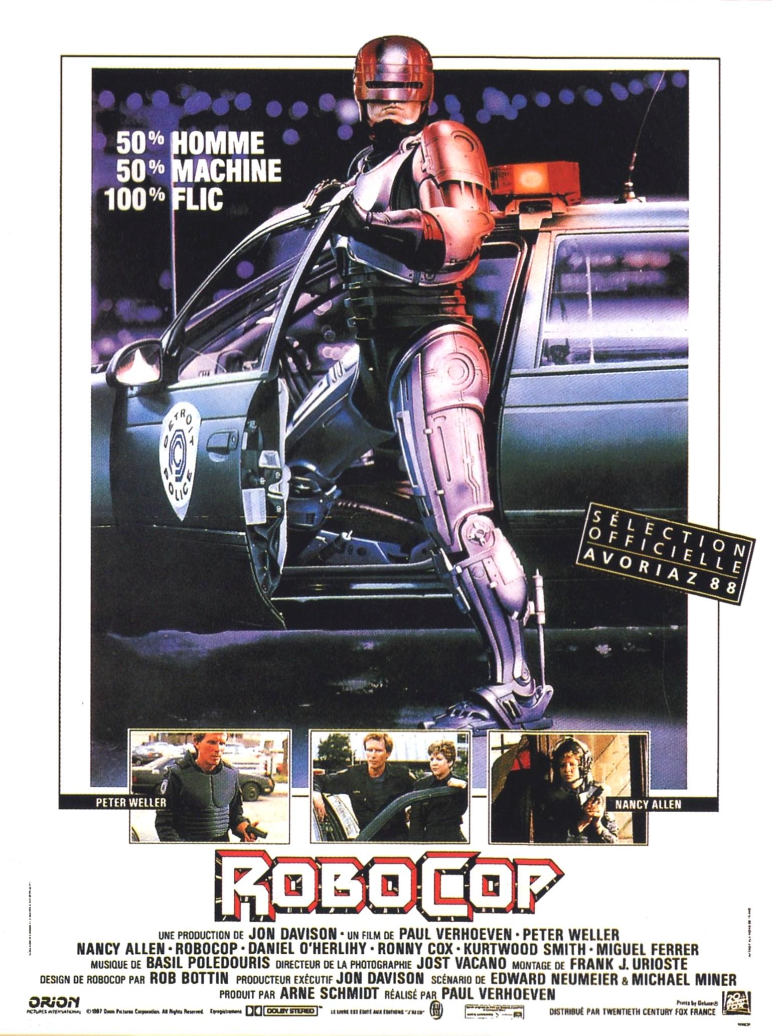 Robocop de Paul Verhoeven.