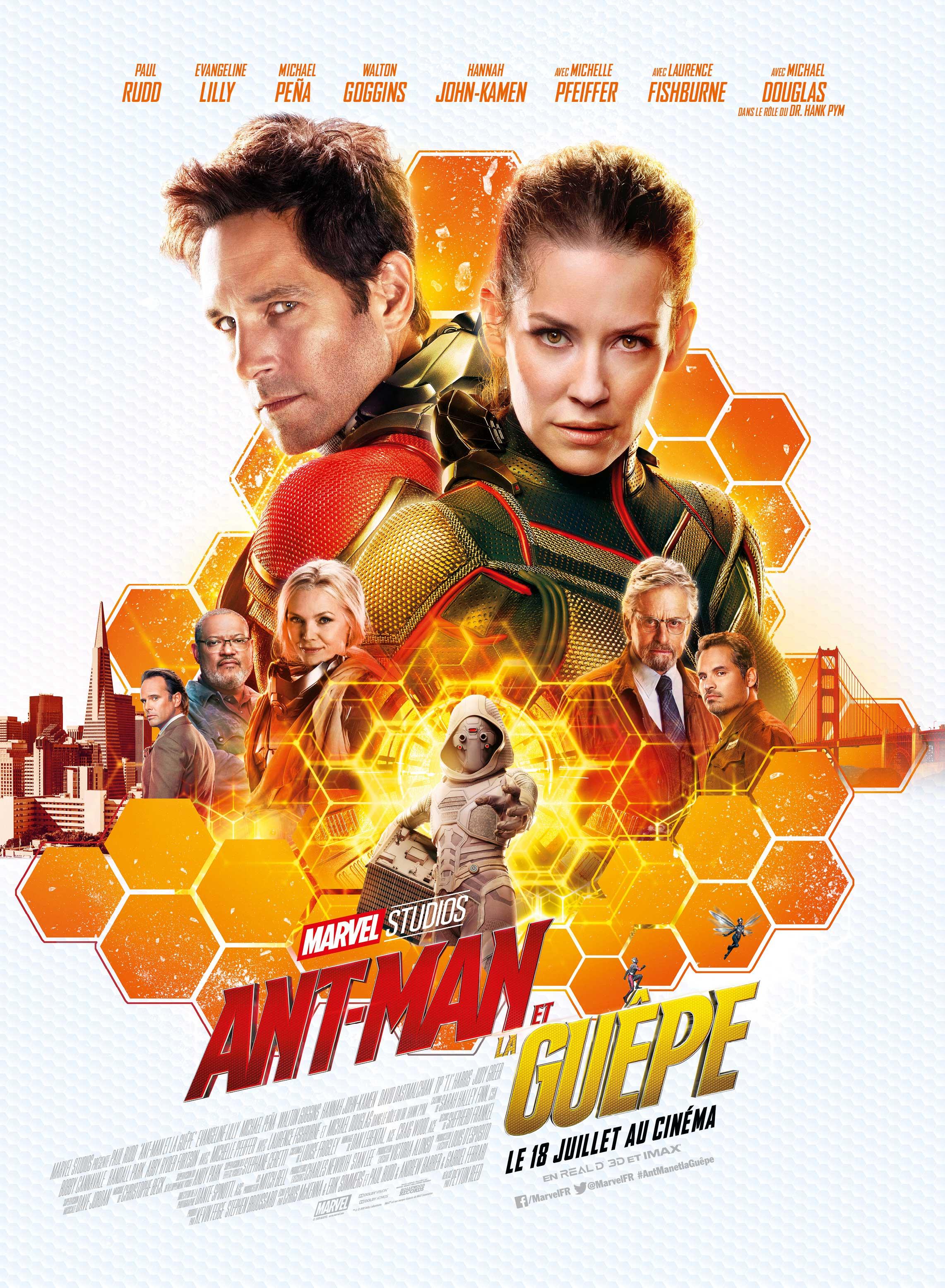ant-man et la guepe : la critique