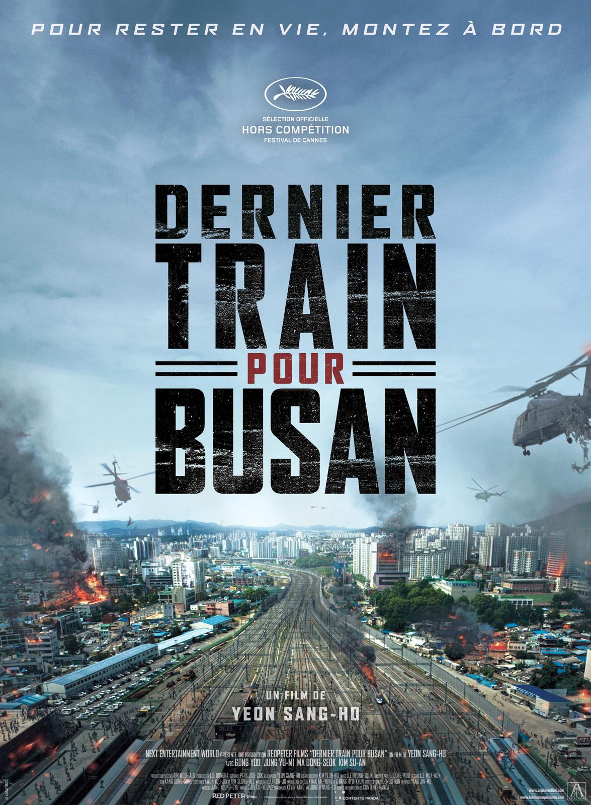 affiche de Dernier train pour Busan (2016) de Yeon Sang-ho