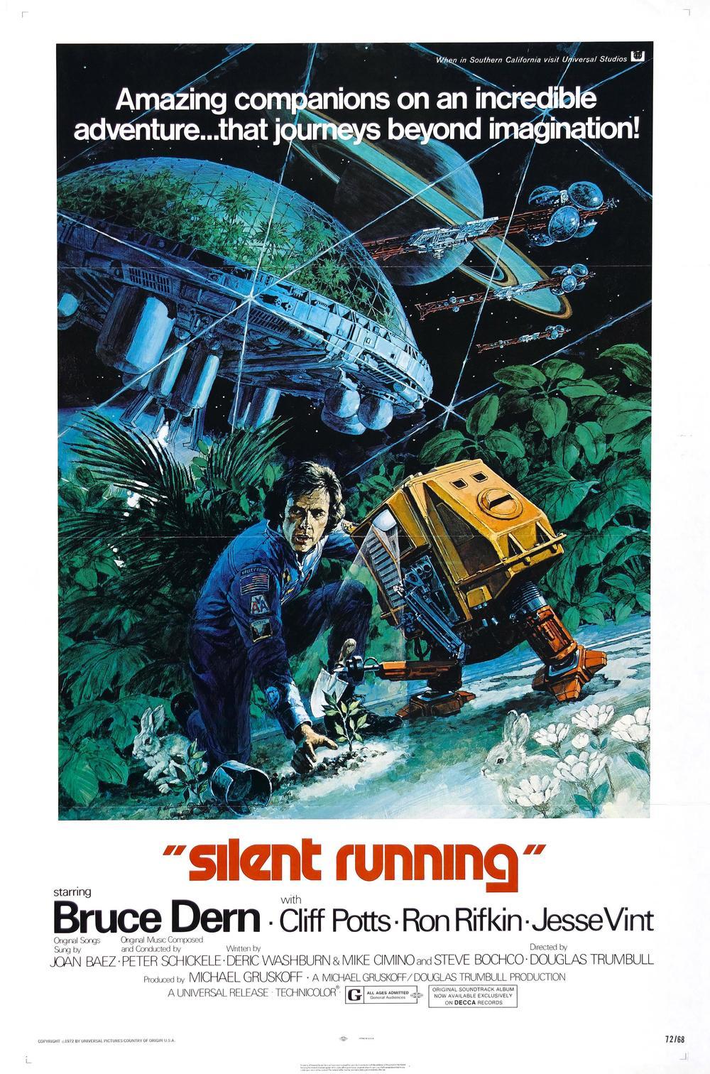 Silent Running affiche