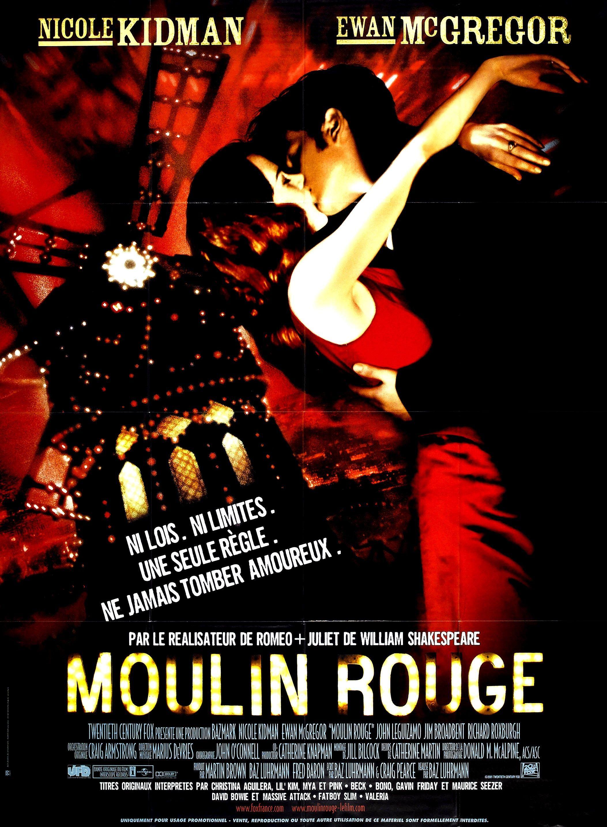 Moulin Rouge de Baz Luhrmann