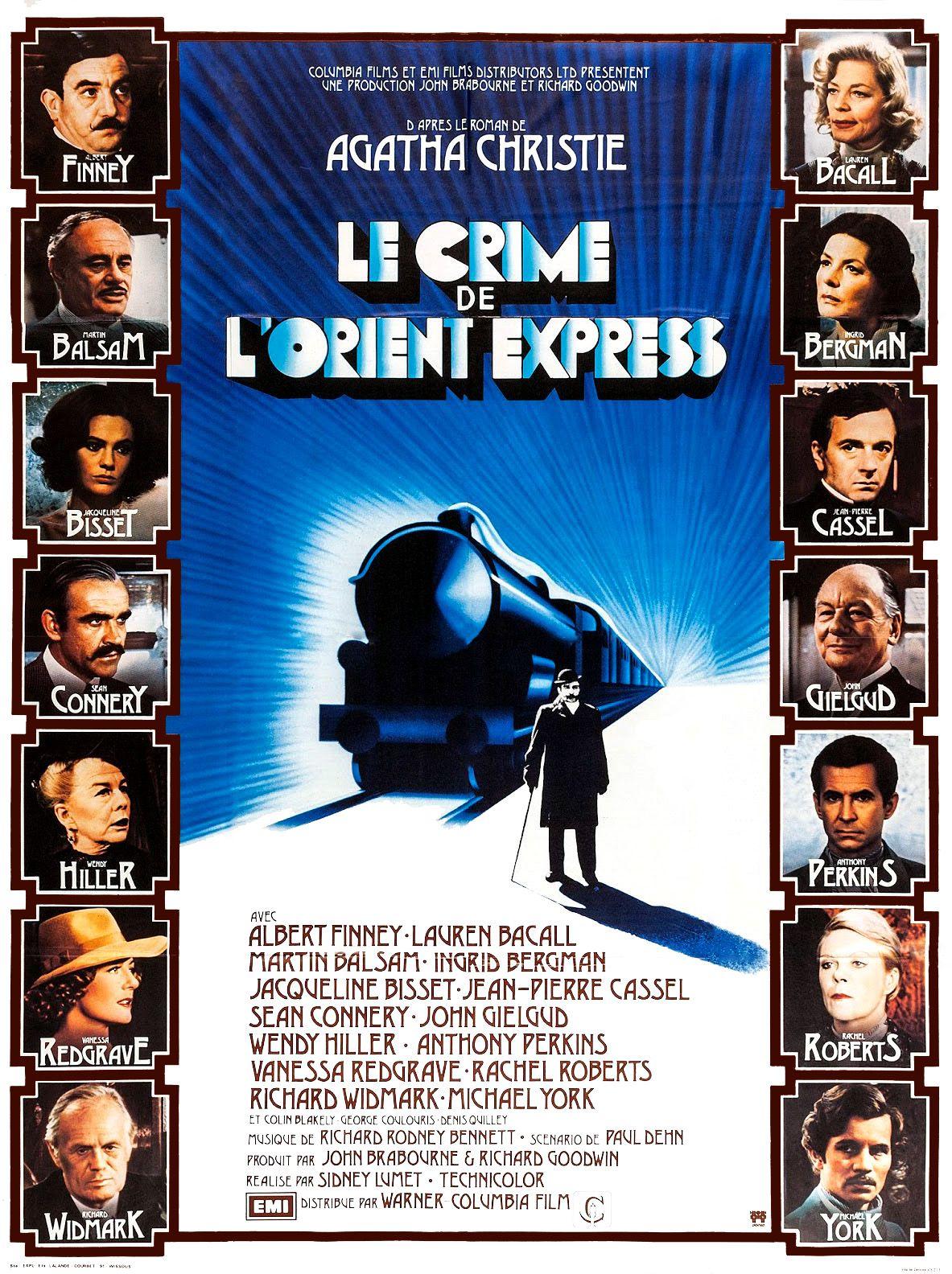 Le Crime de l'Orient Express (1974) affiche