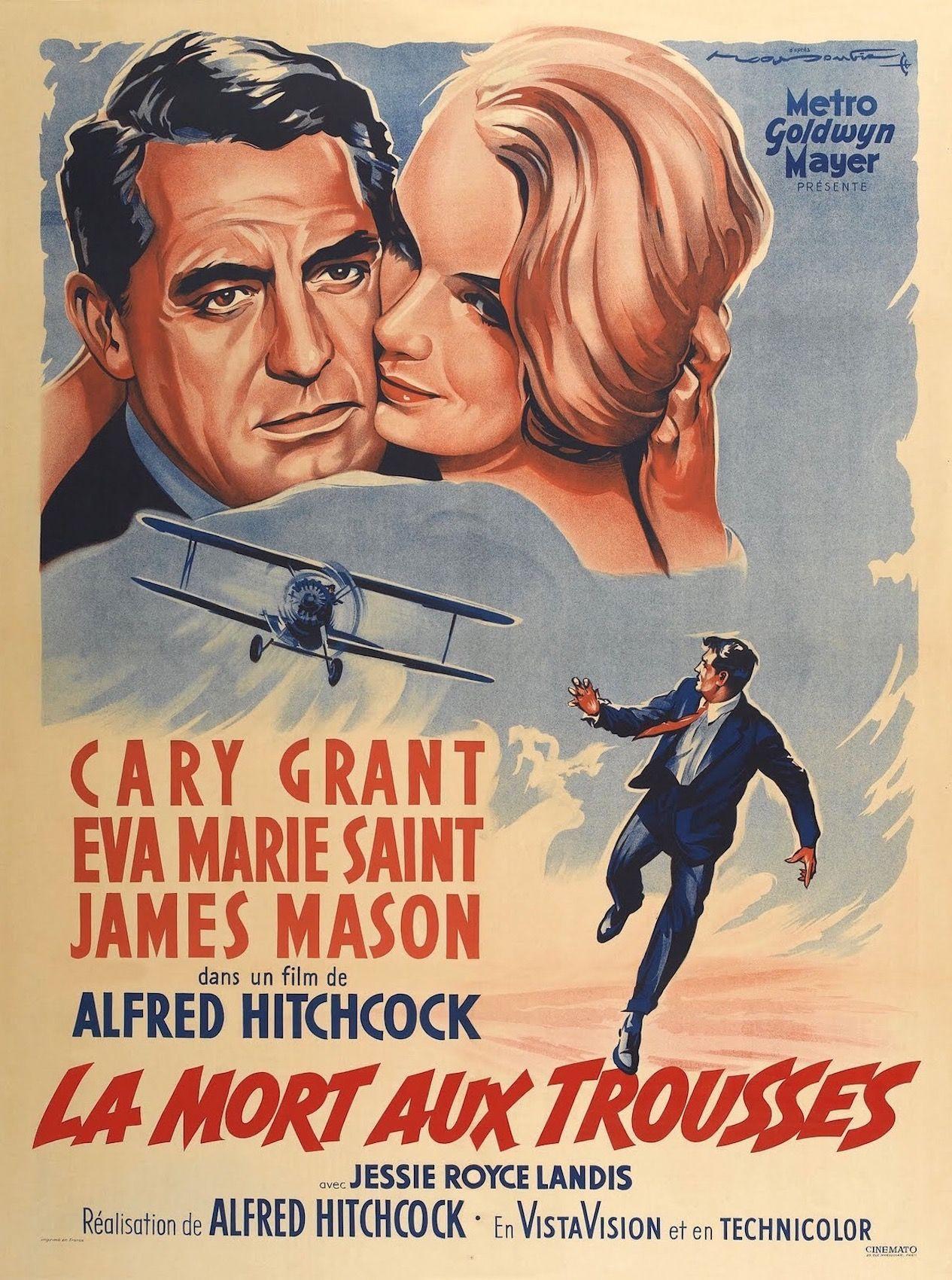 La Mort aux trousses (1959) d'Alfred Hitchcock