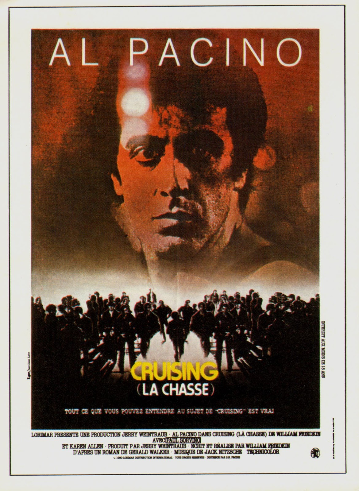 CRUISING de William Friedkin