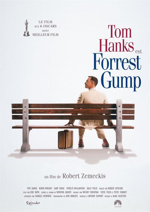 tom hanks est forrest gump dans le film de robert zemeckis