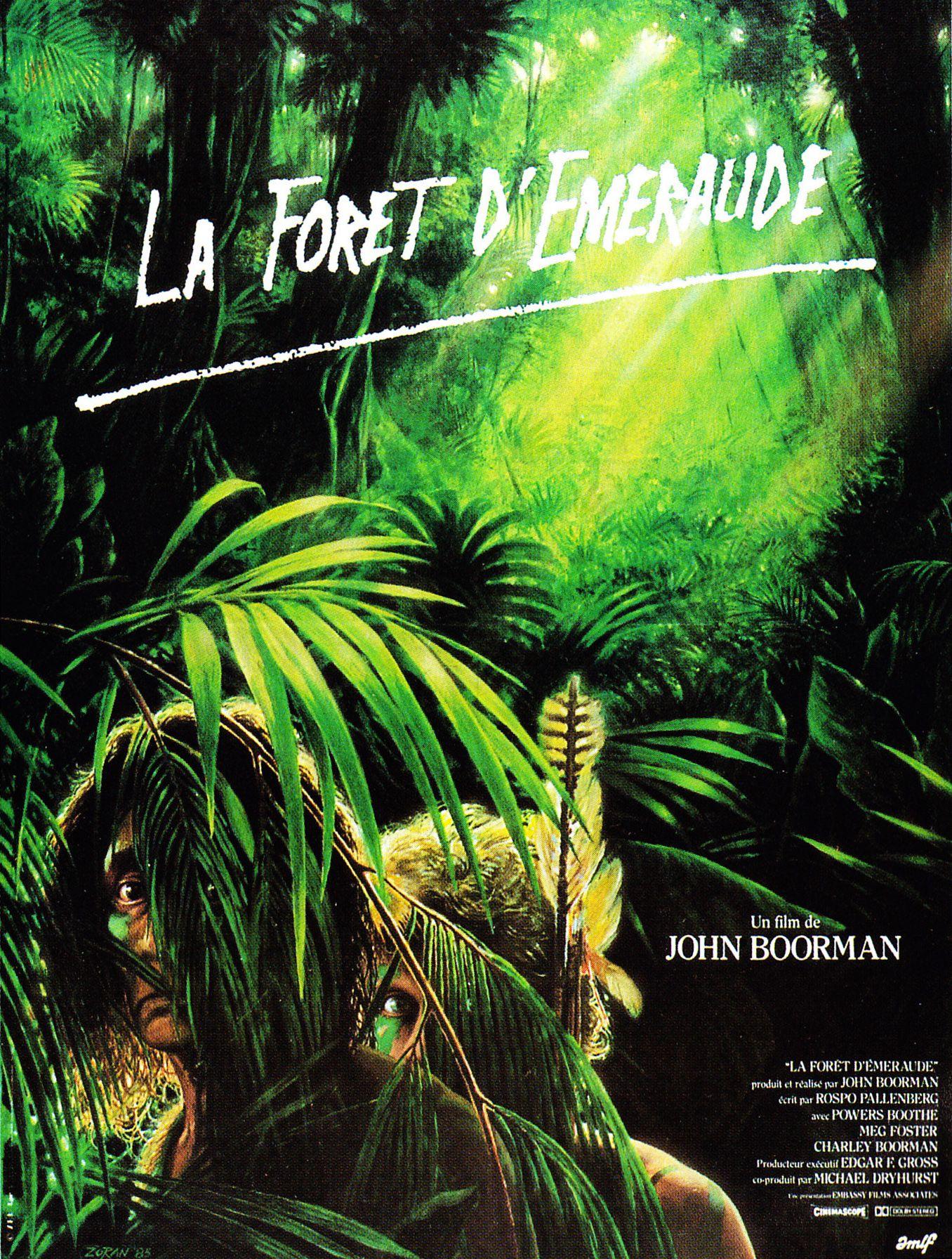 La Forêt d'émeraude (1985) de John Boorman