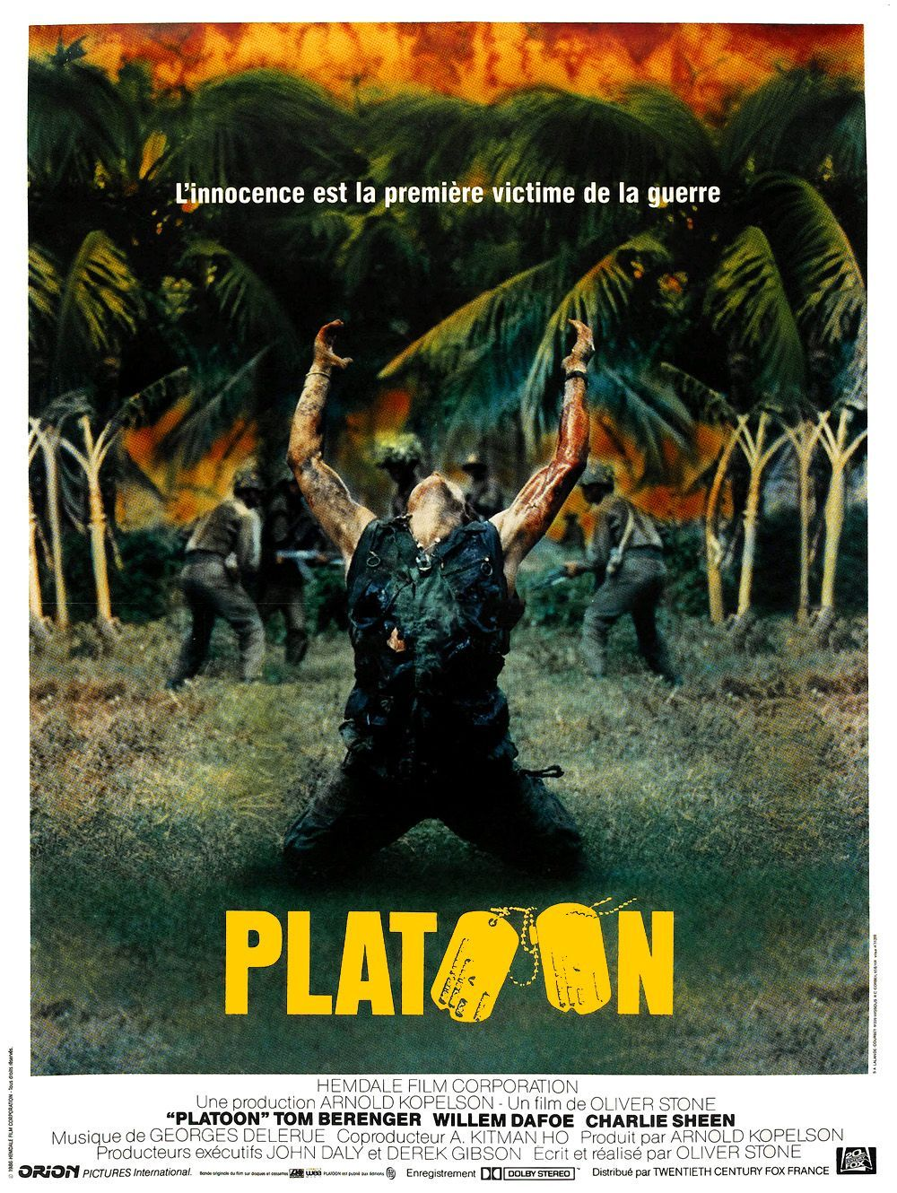 Platoon (1986) d'Oliver Stone