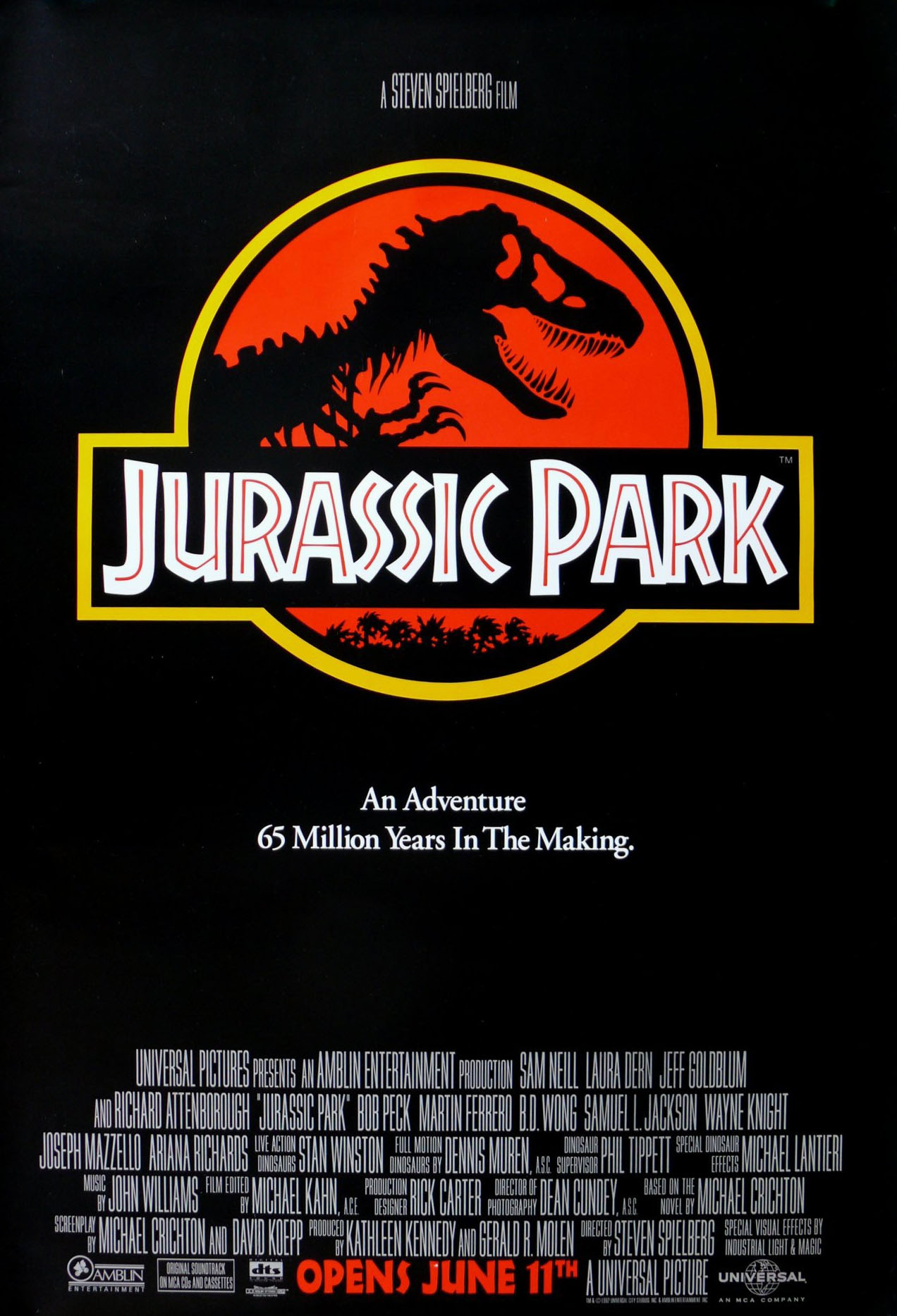 affiche Jurassic Park (1993)