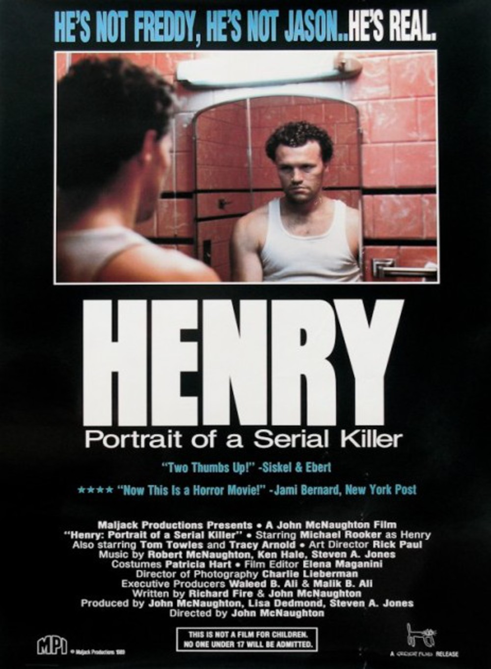 Henry portrait d'un serial killer (1986) de John McNaughton