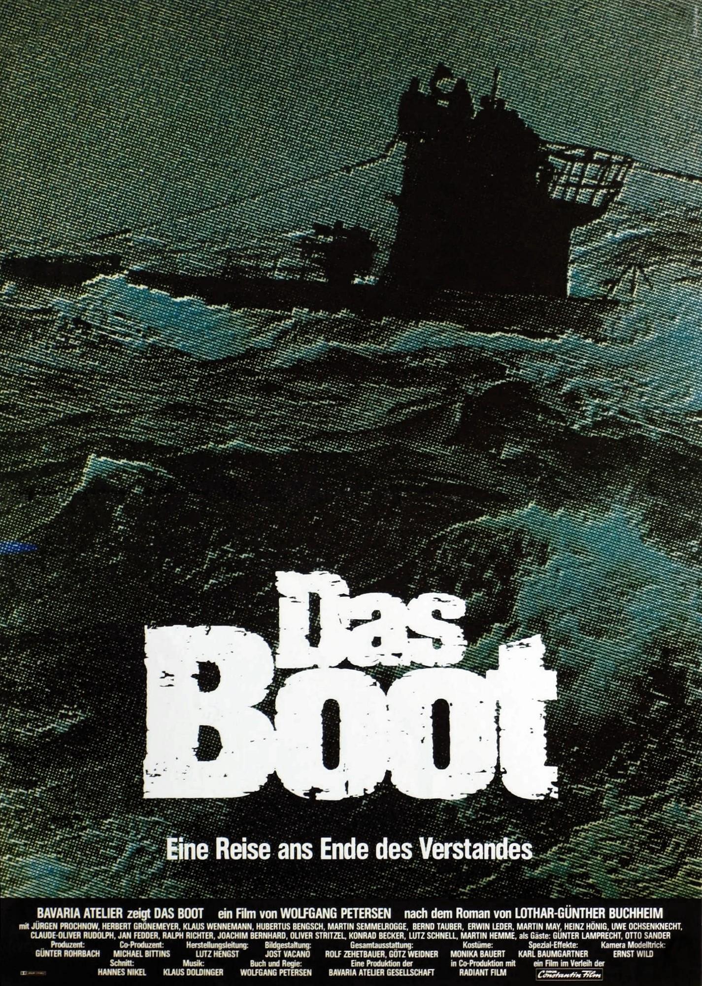 affiche Das Boot
