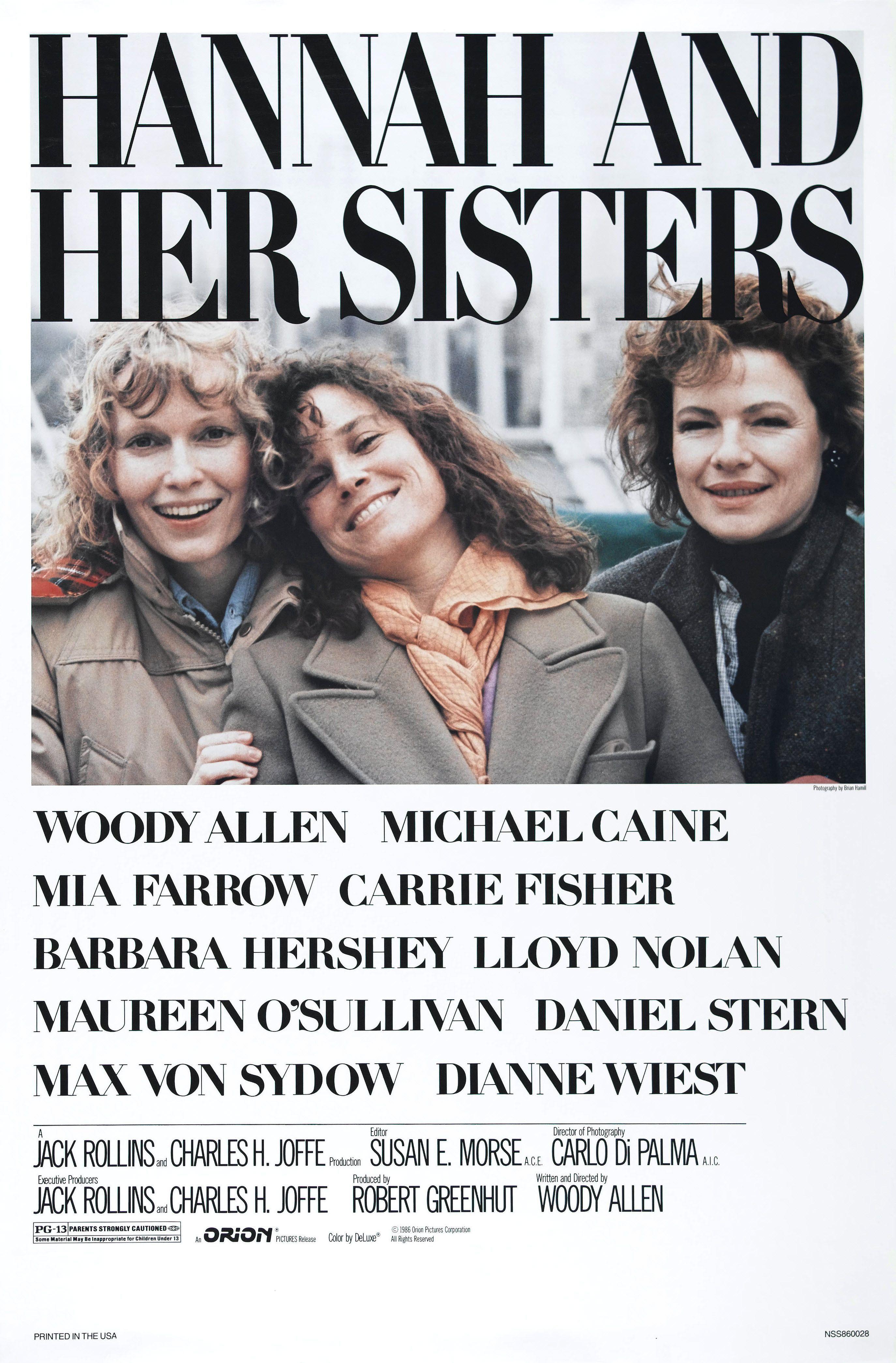 Hannah et ses soeurs de Woody Allen