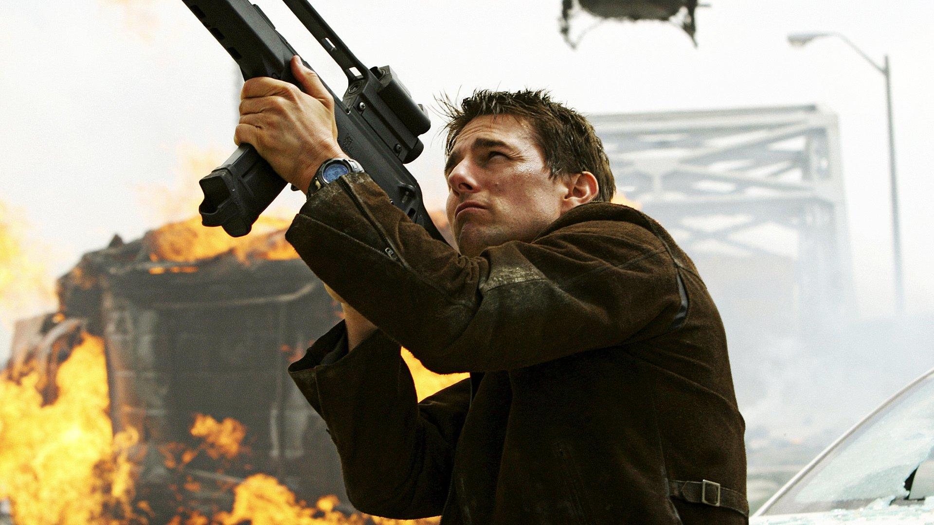 tom cruise dans Mission : impossible 3 (2006) de JJ Abrams