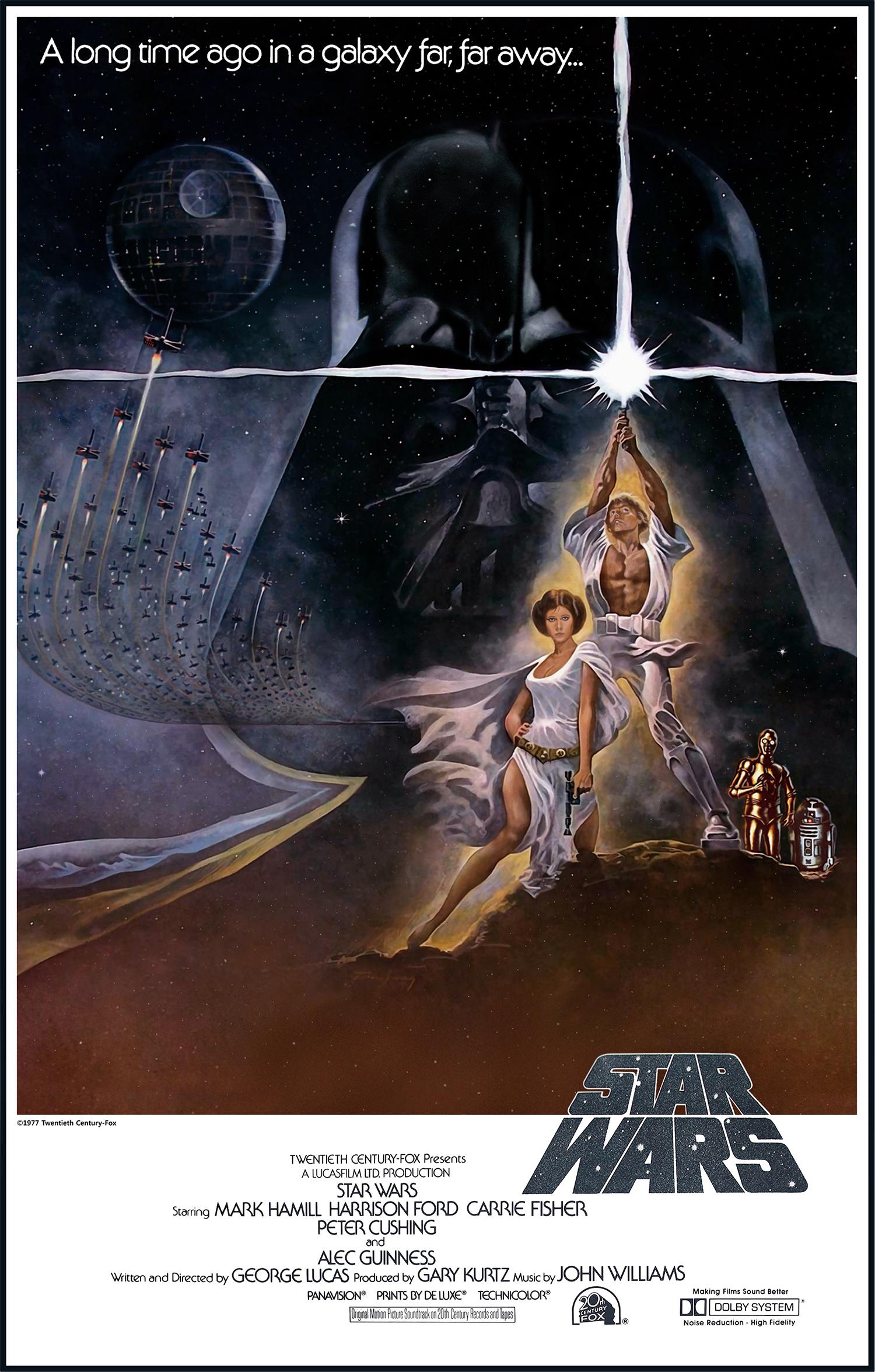 La Guerre des étoiles de George Lucas
