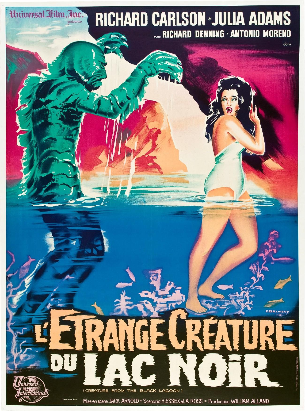 L'Etrange créature du lac noir (1953) de Jack Arnold