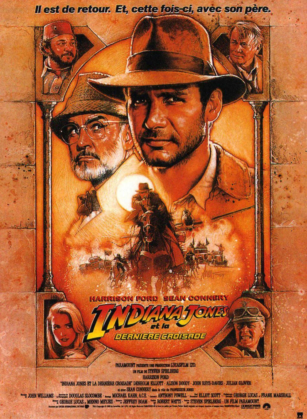 affiche Indiana Jones et la dernière croisade (1989)