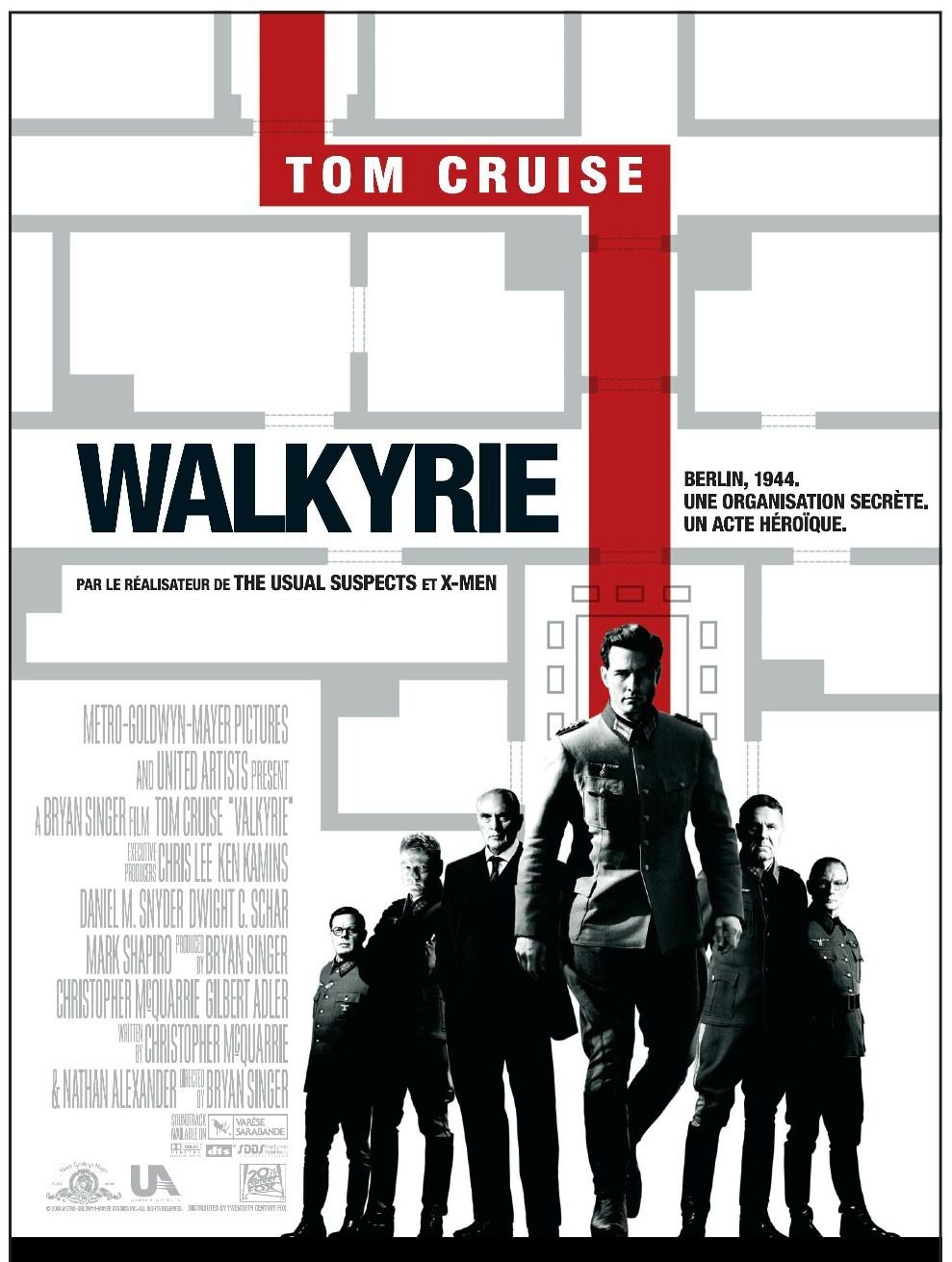 Walkyrie (2008) de Bryan Singer