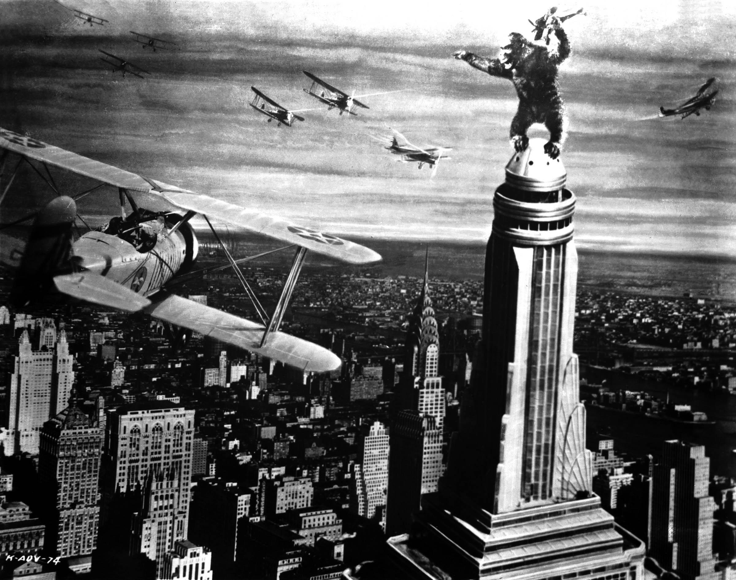 King Kong (1933) de Merian C. Cooper et Ernest B. Schoedsack