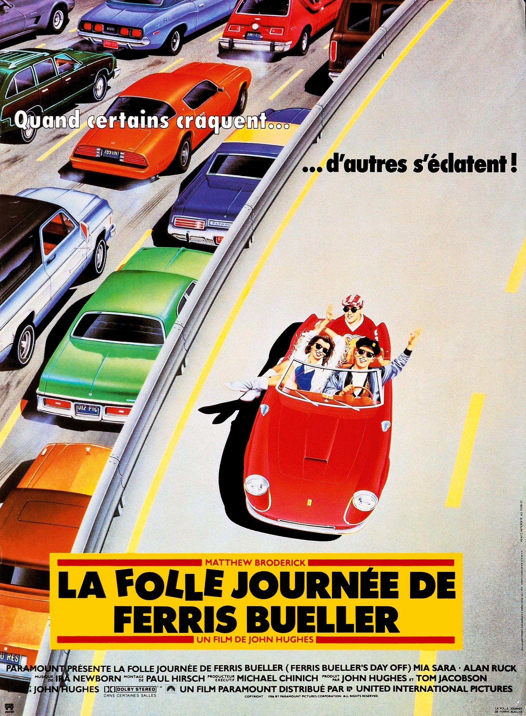 La folle journée de Ferris Bueller de John Hughes