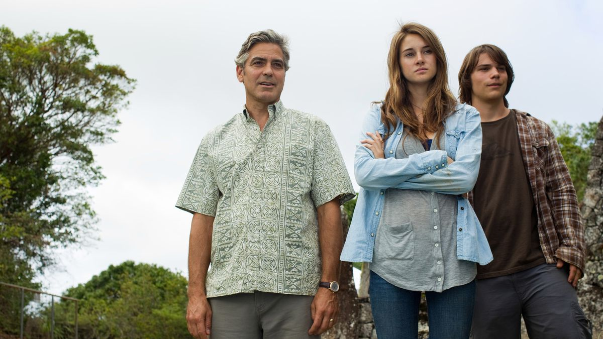 George Clooney dans The Descendants (2011)