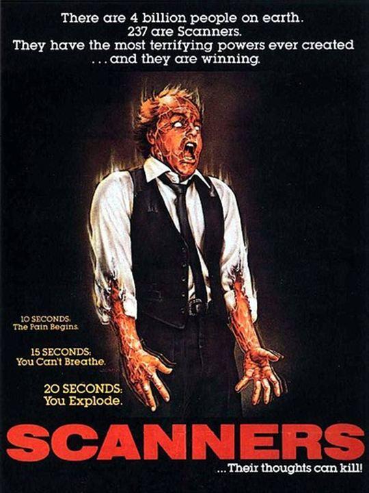 Scanners (1981) de David Cronenberg