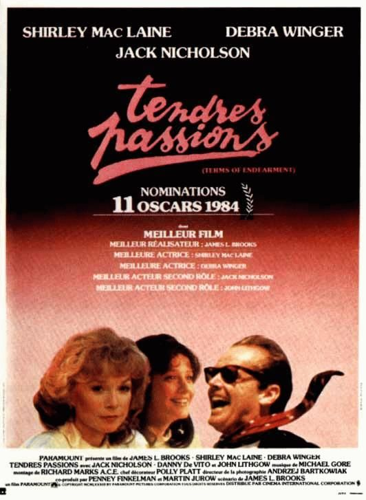 Tendres passions (1983) de James L. Brooks