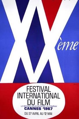 affiche festival de cannes 1967