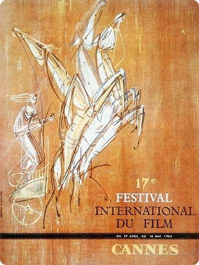 affiche du festival de cannes 1964